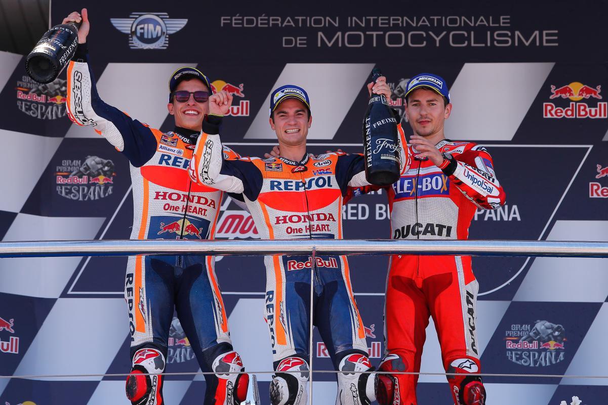 Razones del dominio español en MotoGP
