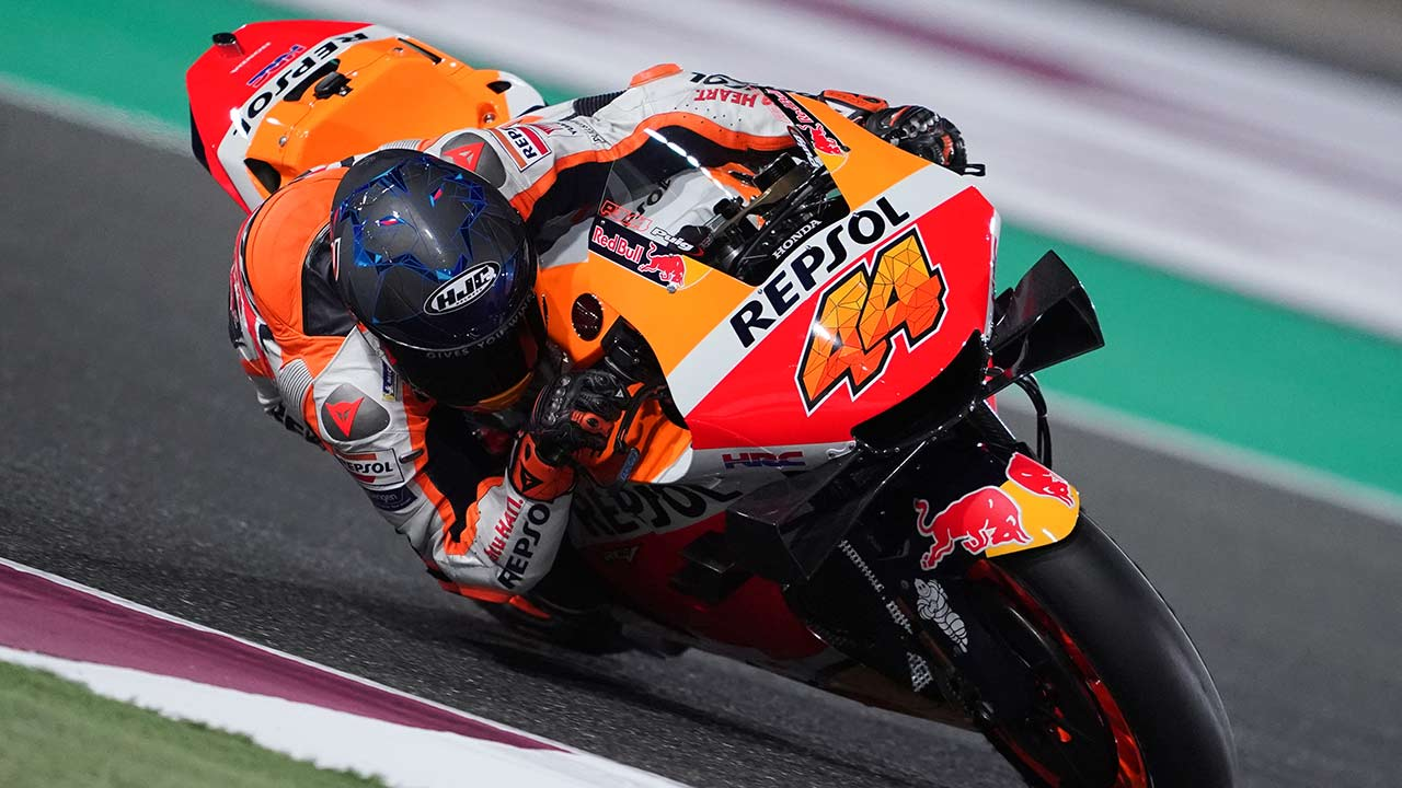The Repsol Honda Team enjoyed another productive evening in Qatar