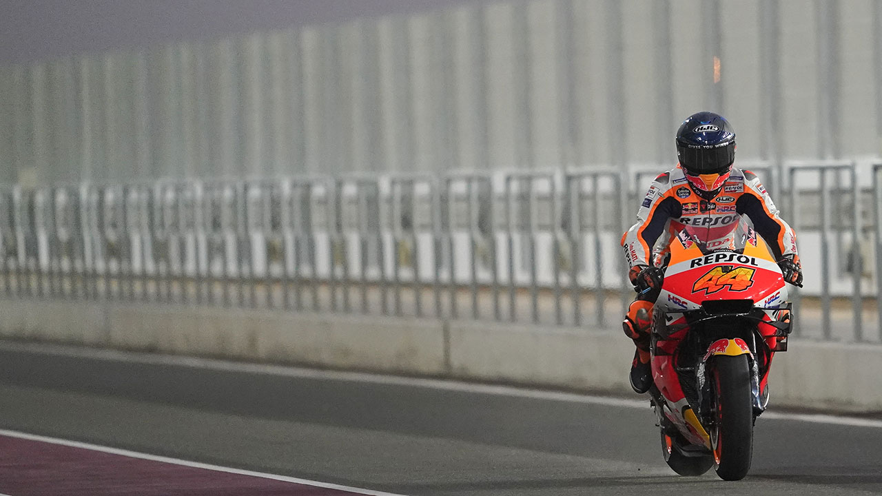 Conditions limit running as testing concludes in Qatar