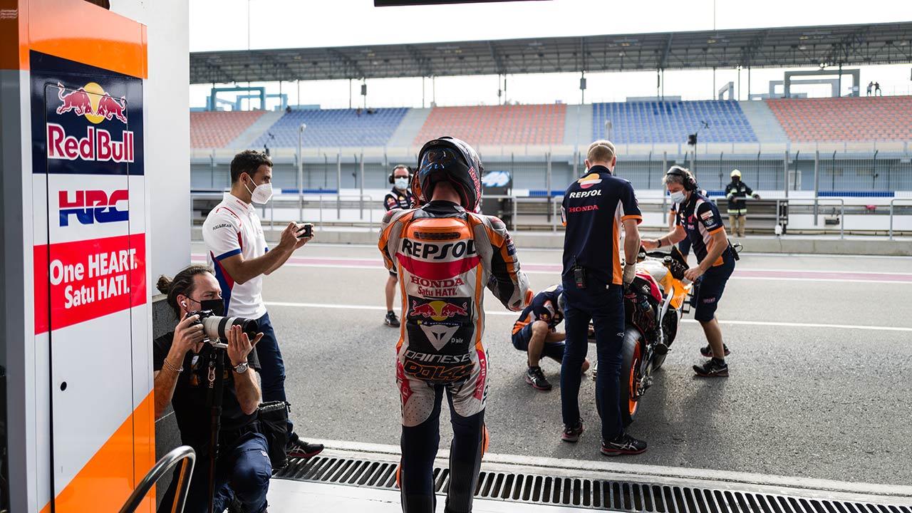 El equipo Repsol Honda regresa a la acción en Catar