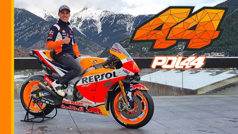 Pol Espargaró sobre su nueva Honda RC213V