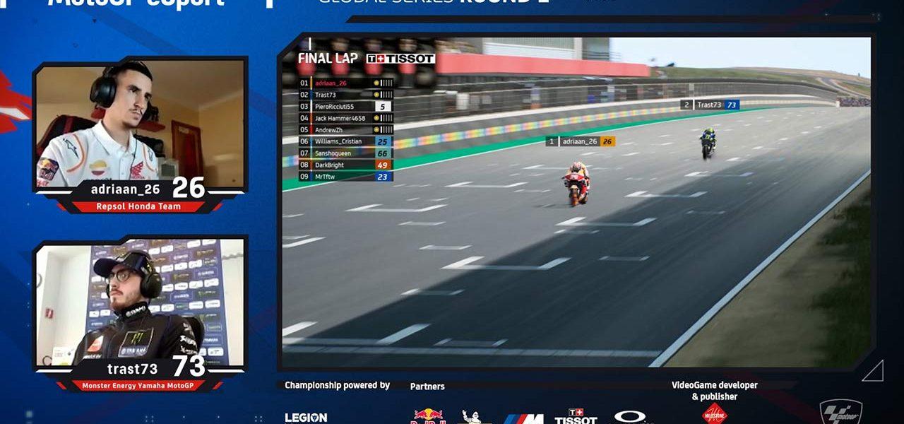 Adriaan_26 lidera el Campeonato del Mundo eSport de MotoGP