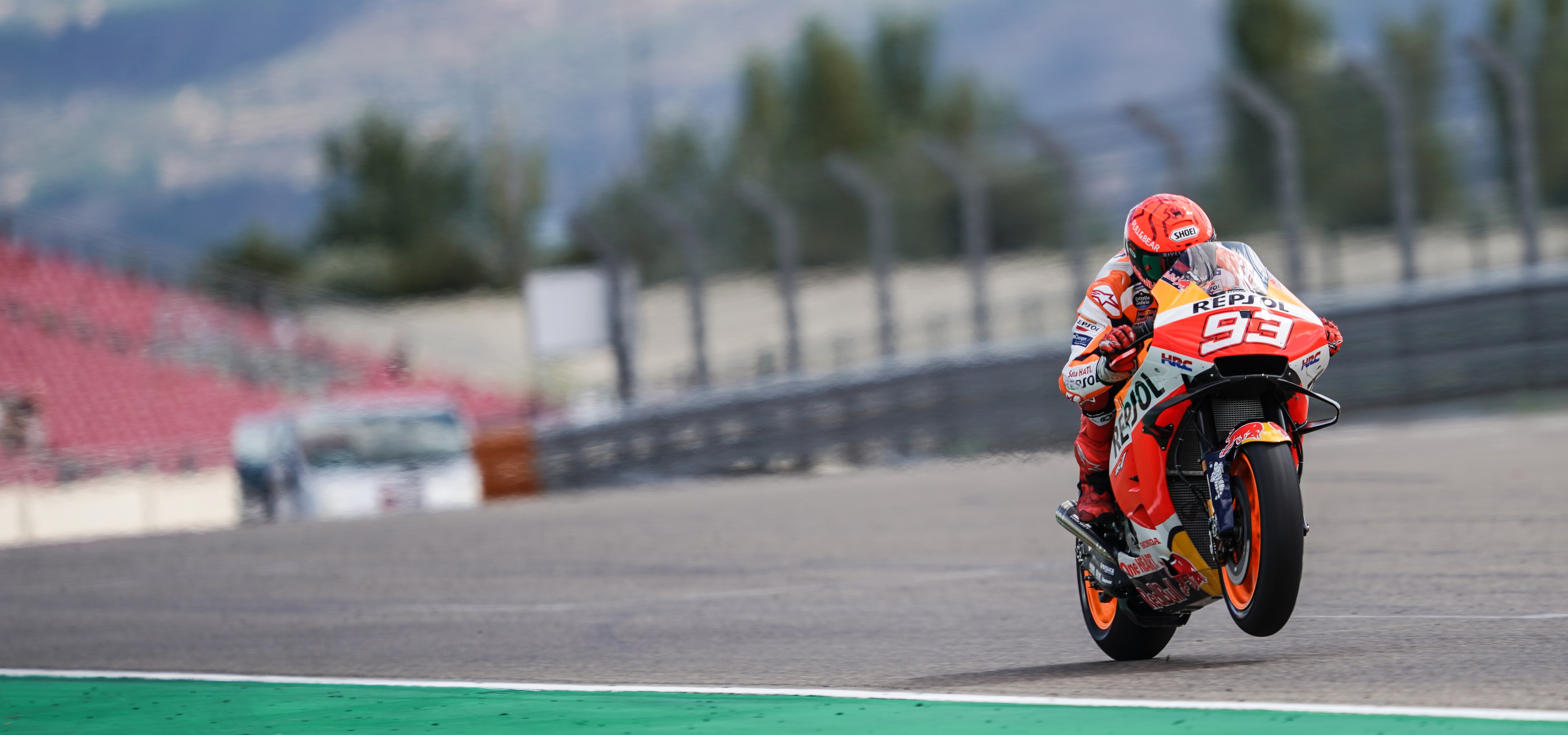 Repsol Honda Team have first contact with MotorLand