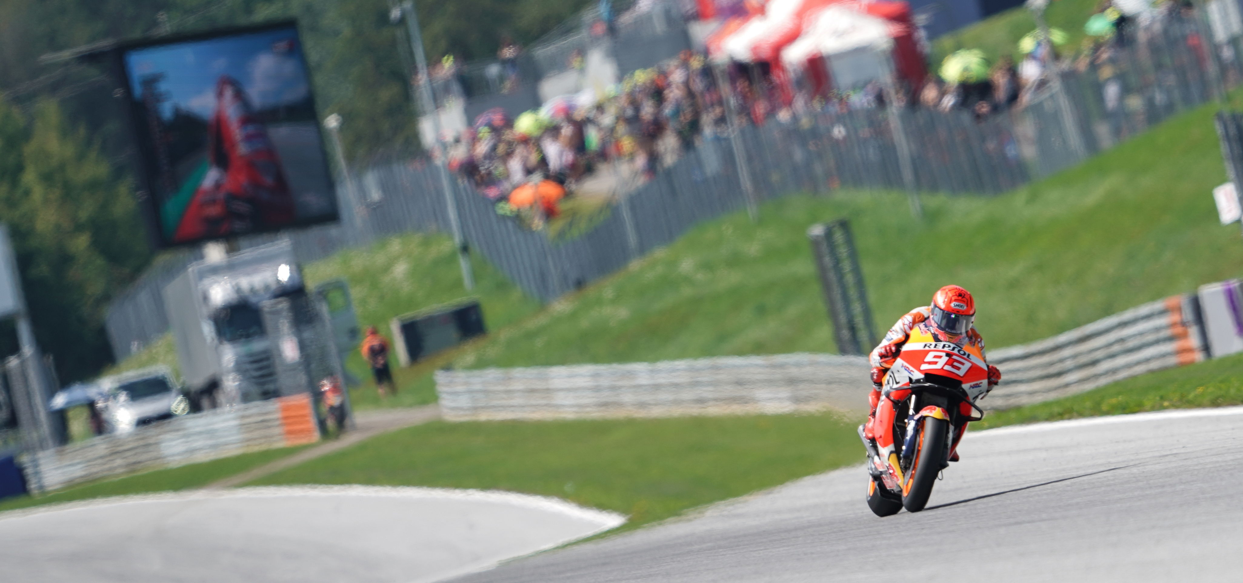 Márquez to start from fifth in Austria