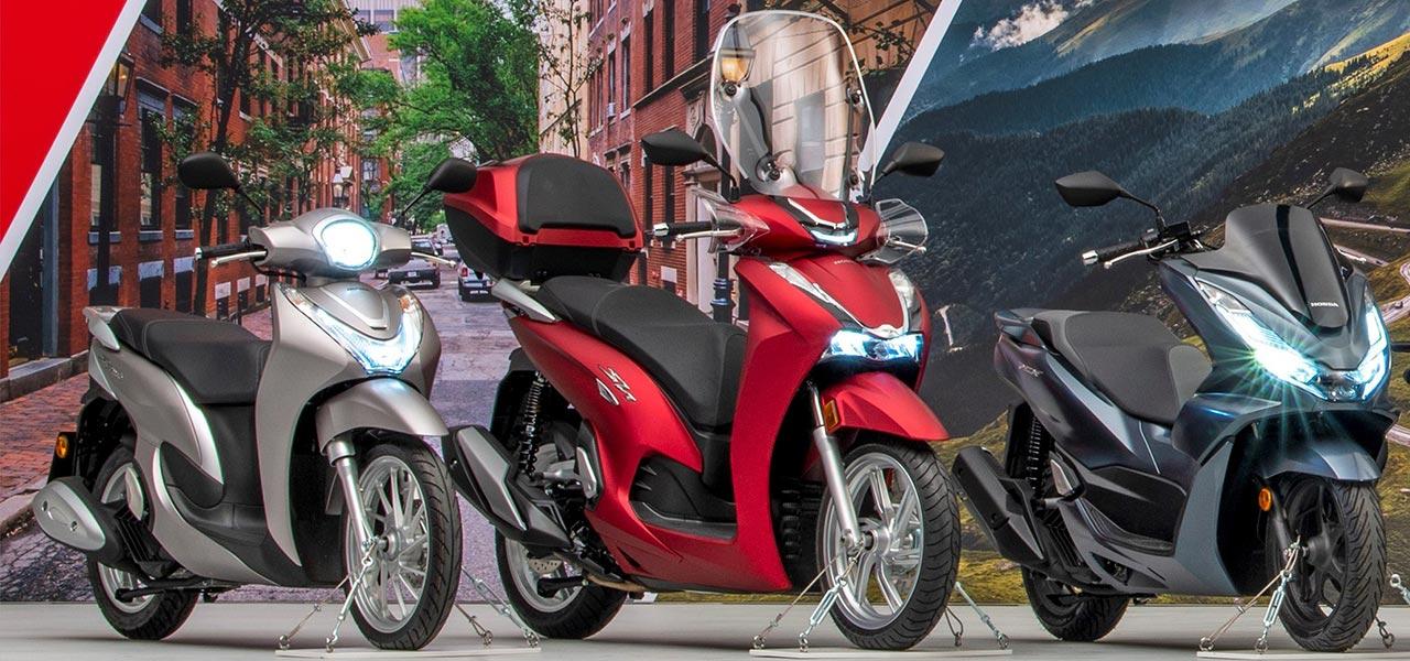 Los 5 scooters Honda que podrás llevar con tu carnet de coche