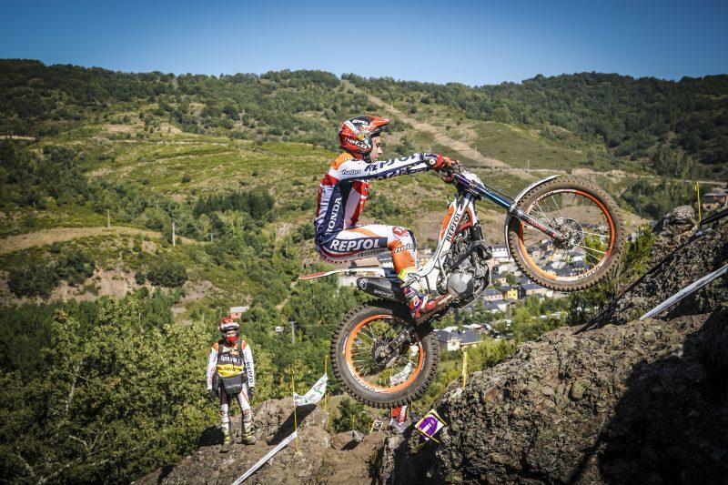 Empieza la recta final para el Repsol Honda Team en el Mundial de Trial