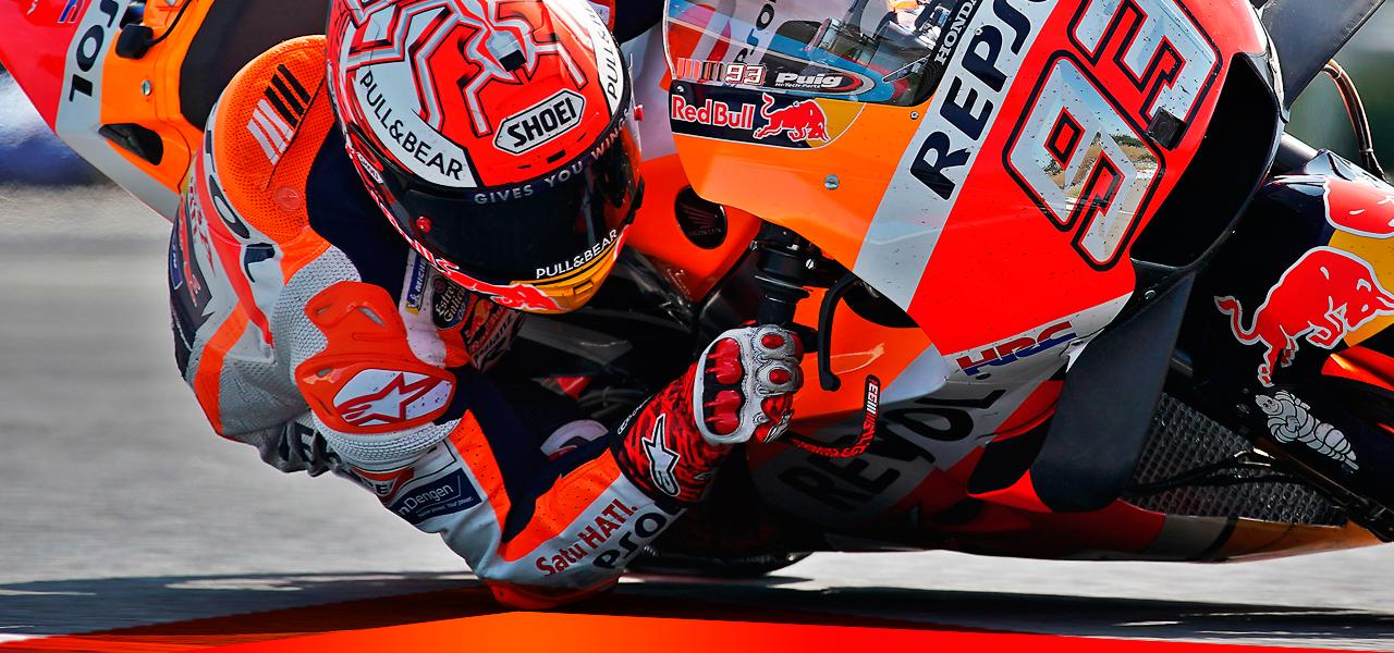 Técnicas singulares de pilotaje en MotoGP