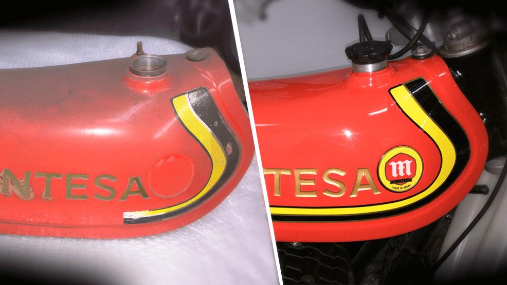 Cómo restaurar tu moto antigua