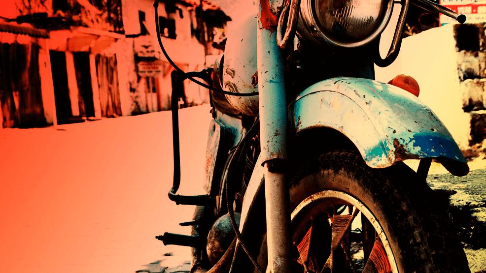 ¿Cómo quitar el óxido de tu moto?