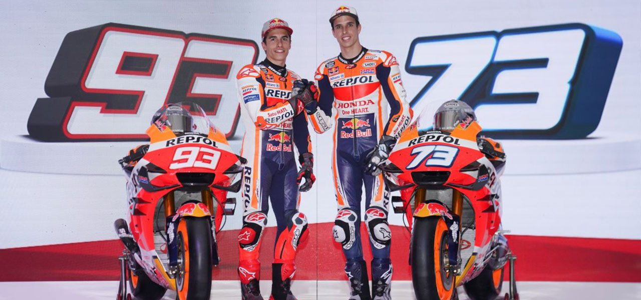 Repsol Honda Team launch 2020 challenge in Indonesia