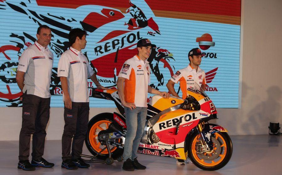 The 2017 Repsol Honda Team Presentation
