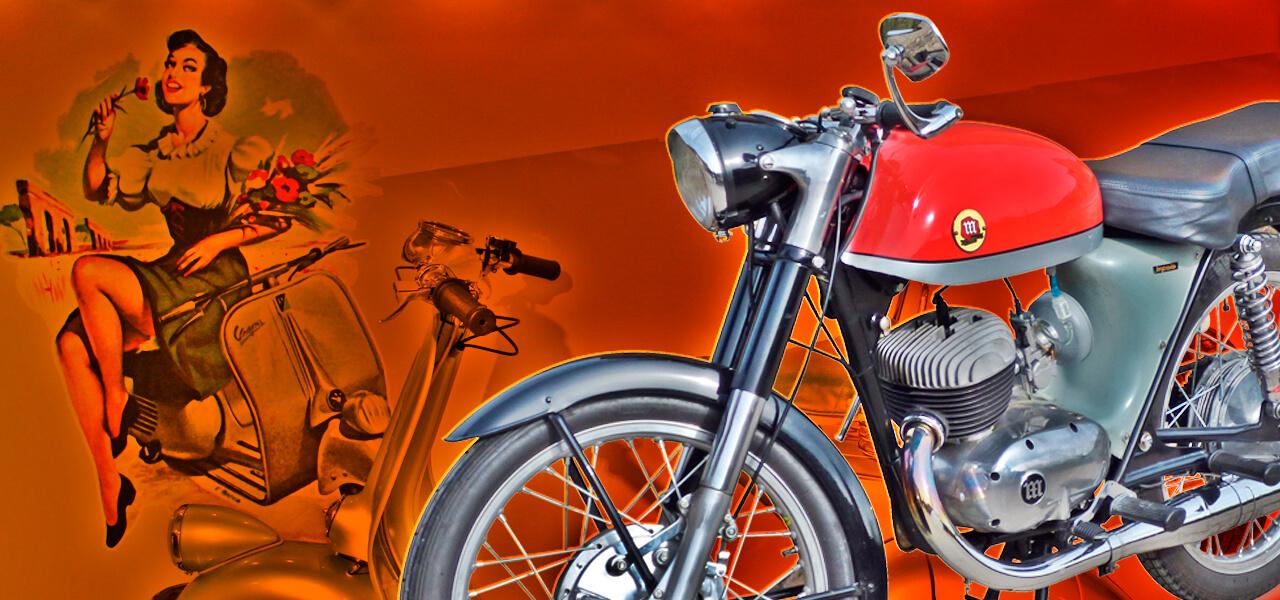 ¿Cuál fue la primera moto de cada generación?