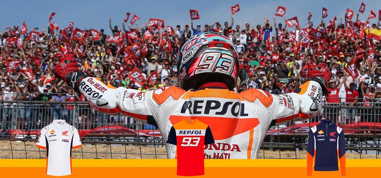 ¡SORTEO! Llévate prendas oficiales del Equipo Repsol Honda en Instagram