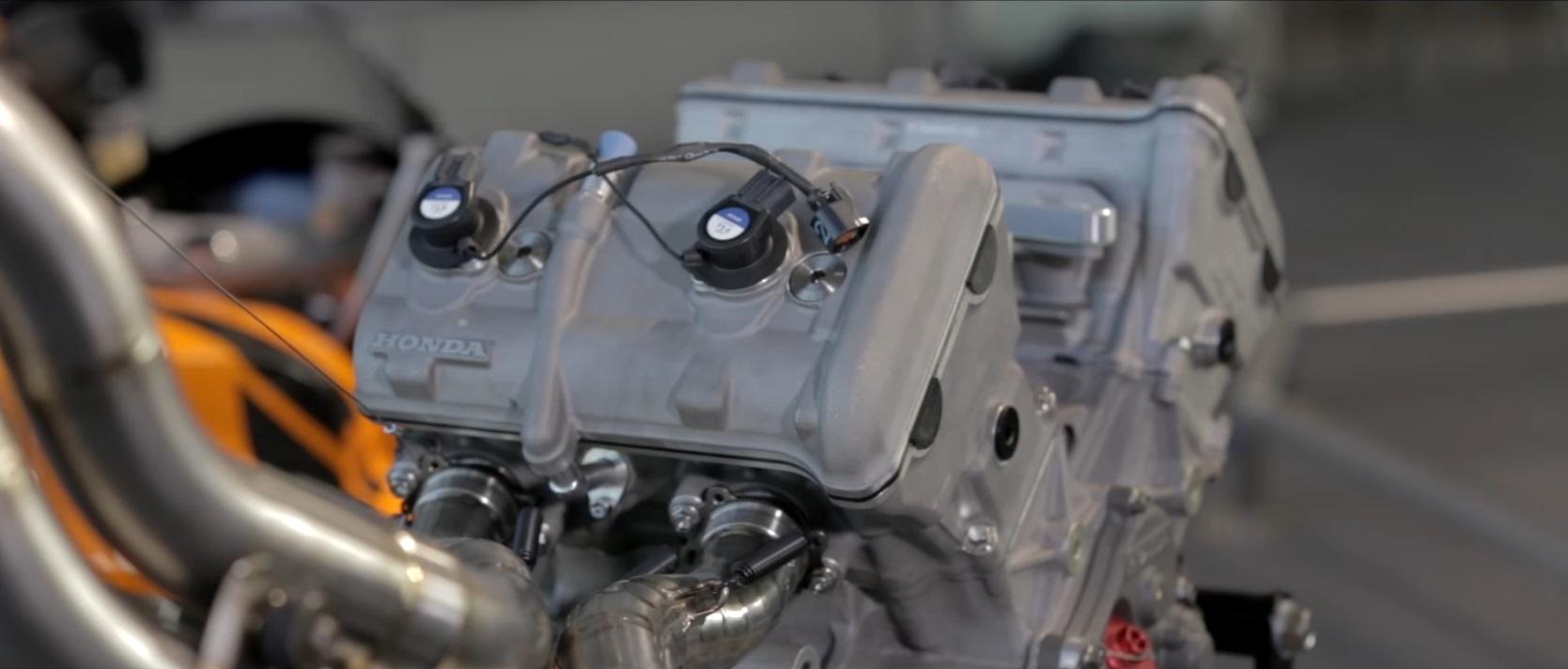 Motor de la RC211V