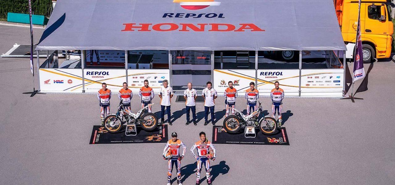 Repsol y Honda renuevan su alianza en el equipo de trial
