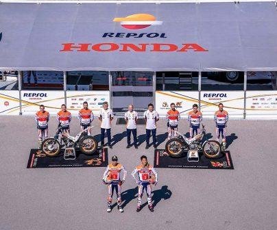 Repsol and Honda renew Trial team partnership>