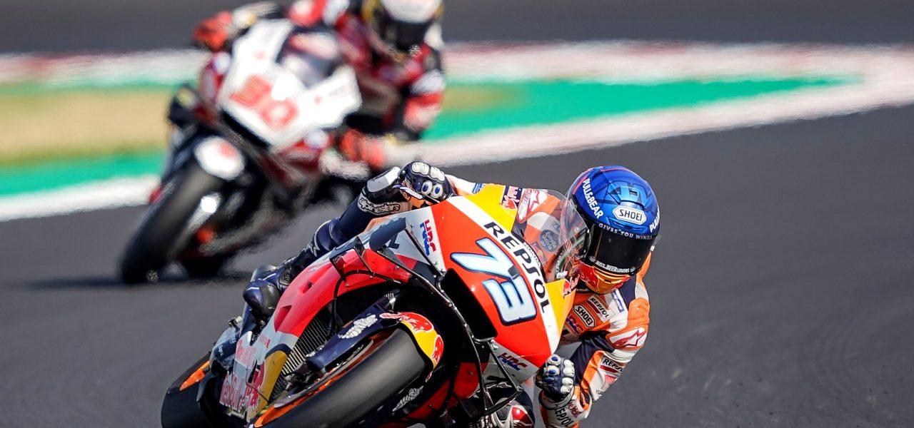 Álex Márquez logra su mejor resultado en MotoGP