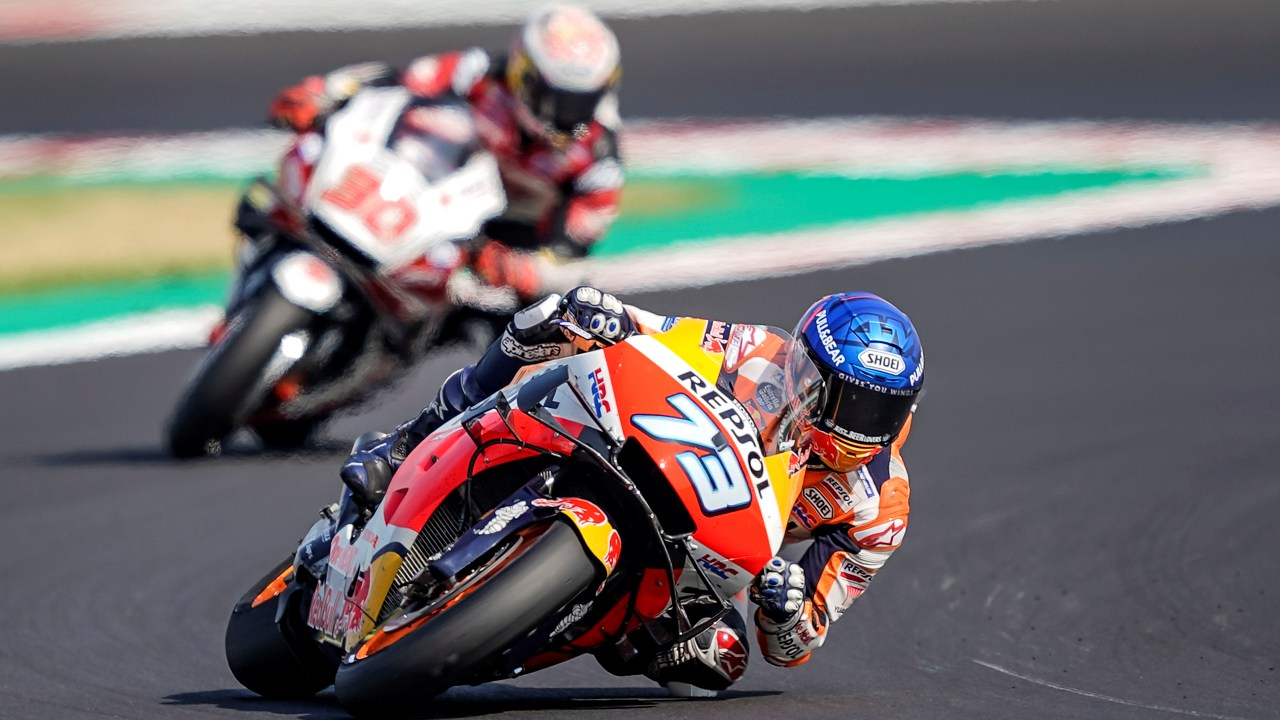Álex Márquez achieves best result in MotoGP