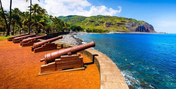 Paseo marítimo en Saint Denis Isla de Reunion