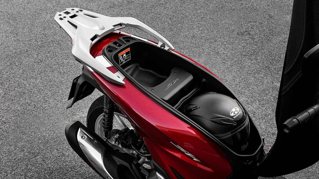 Cofre de la Honda SH 125i 2021