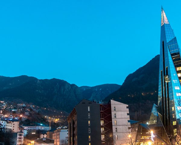 Vista de la ciudad de Andorra la Vella