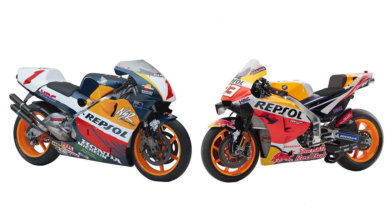Honda NSR500 Y RC213V: campeonas entre las campeonas