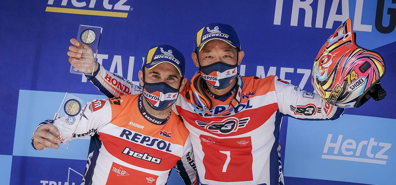 TrialGP: Doblete del equipo Repsol Honda en Italia