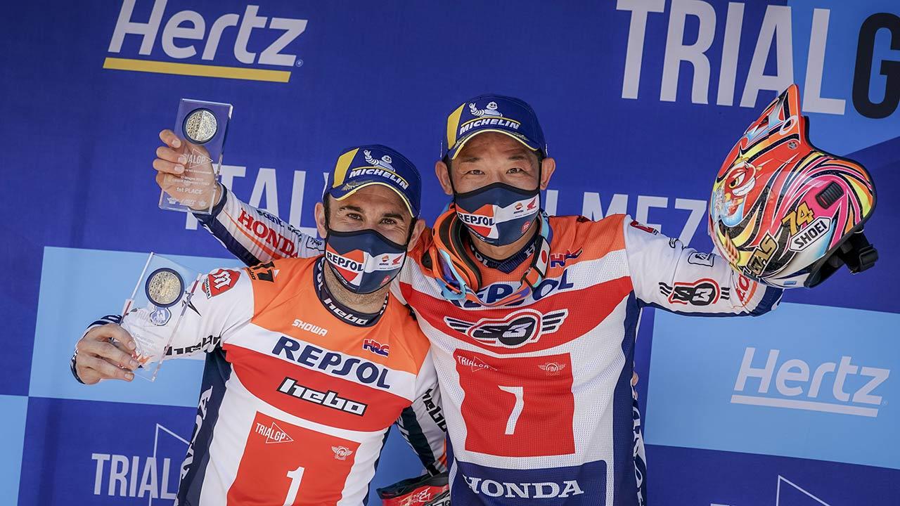 TrialGP Italy: Repsol Honda team double in Italy