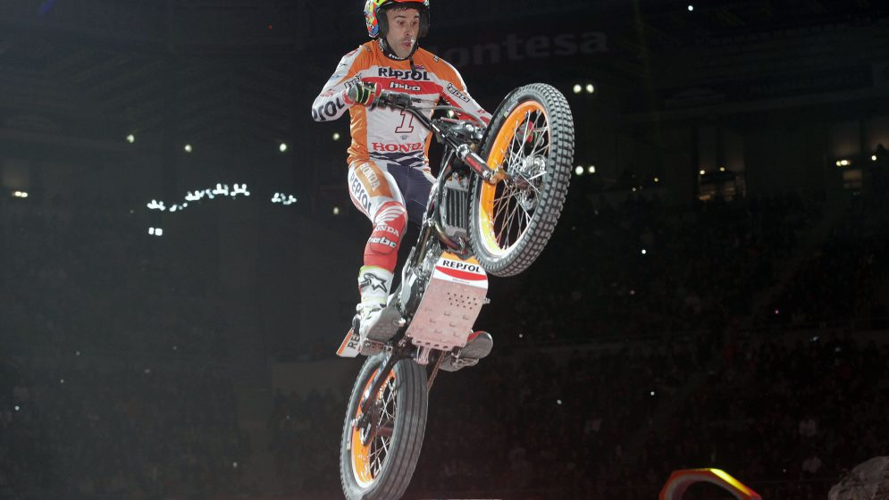 Toni Bou takes his fifth win of the season 'at home'
