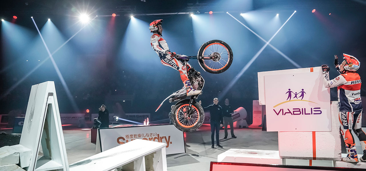 Toni Bou gathers his second win of the season in Rennes