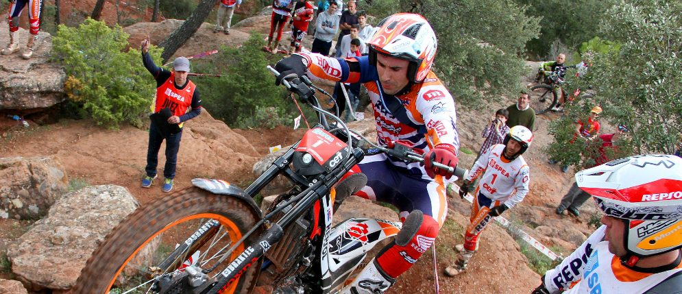 Toni Bou victory and Jaime Busto on the podium in Sigüenza