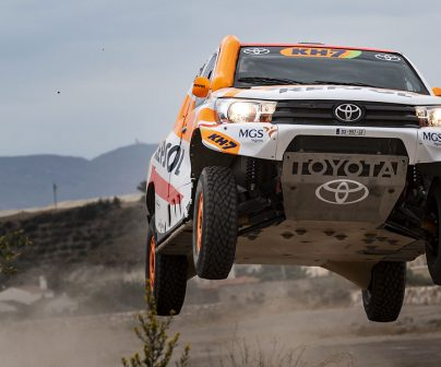 The Repsol Rally Team's brand-new Toyota Hilux Overdrive for the 2021 Dakar>