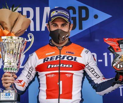 Bou campeón del Mundo en el TrialGP de Italia 2020