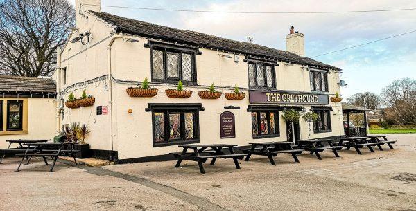Pub en Tong, Gran Bretaña
