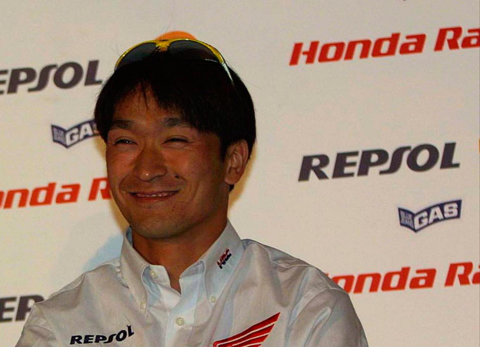 Tohru Ukawa sonriente