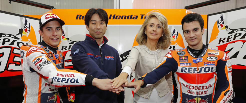 Repsol and Honda extend MotoGP contract until 2018