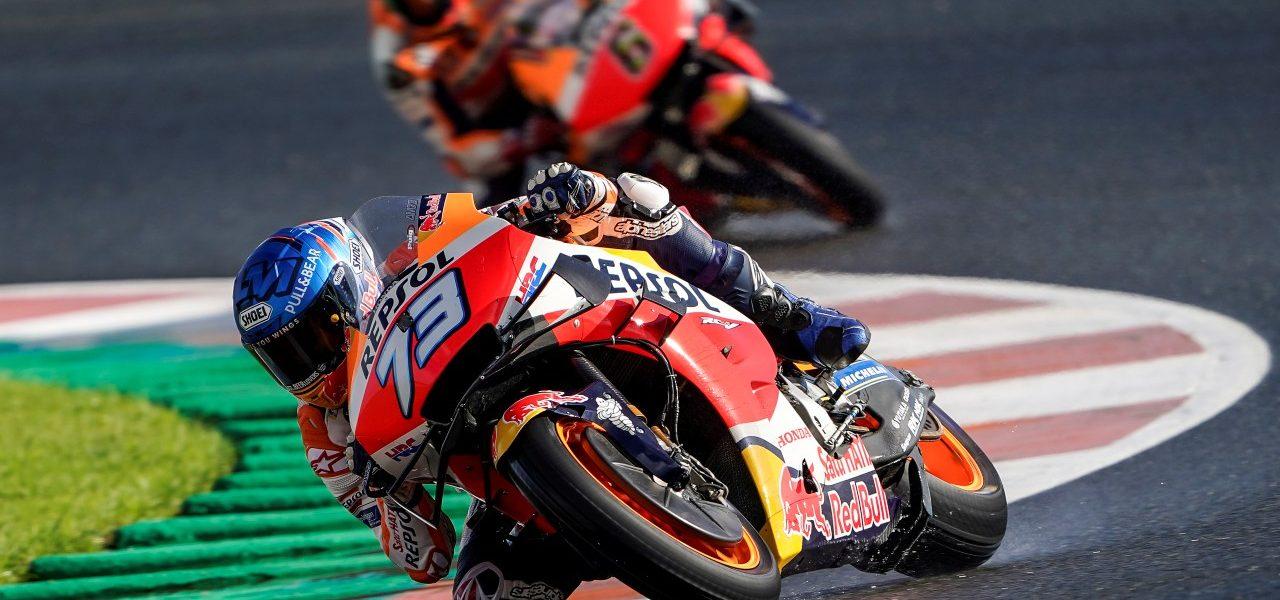 Qualifying MotoGP: Fifth row for Repsol Honda Team riders