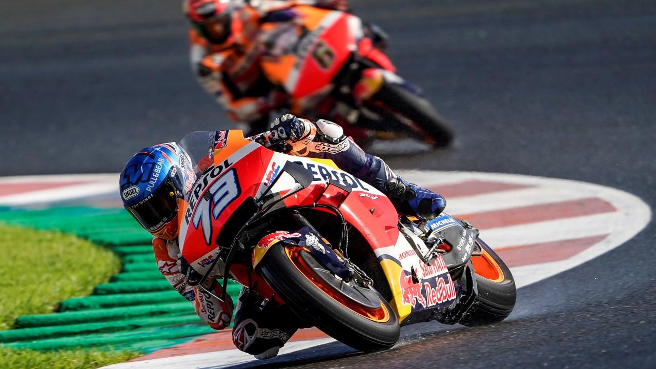 Quinta línea para los pilotos del equipo Repsol Honda