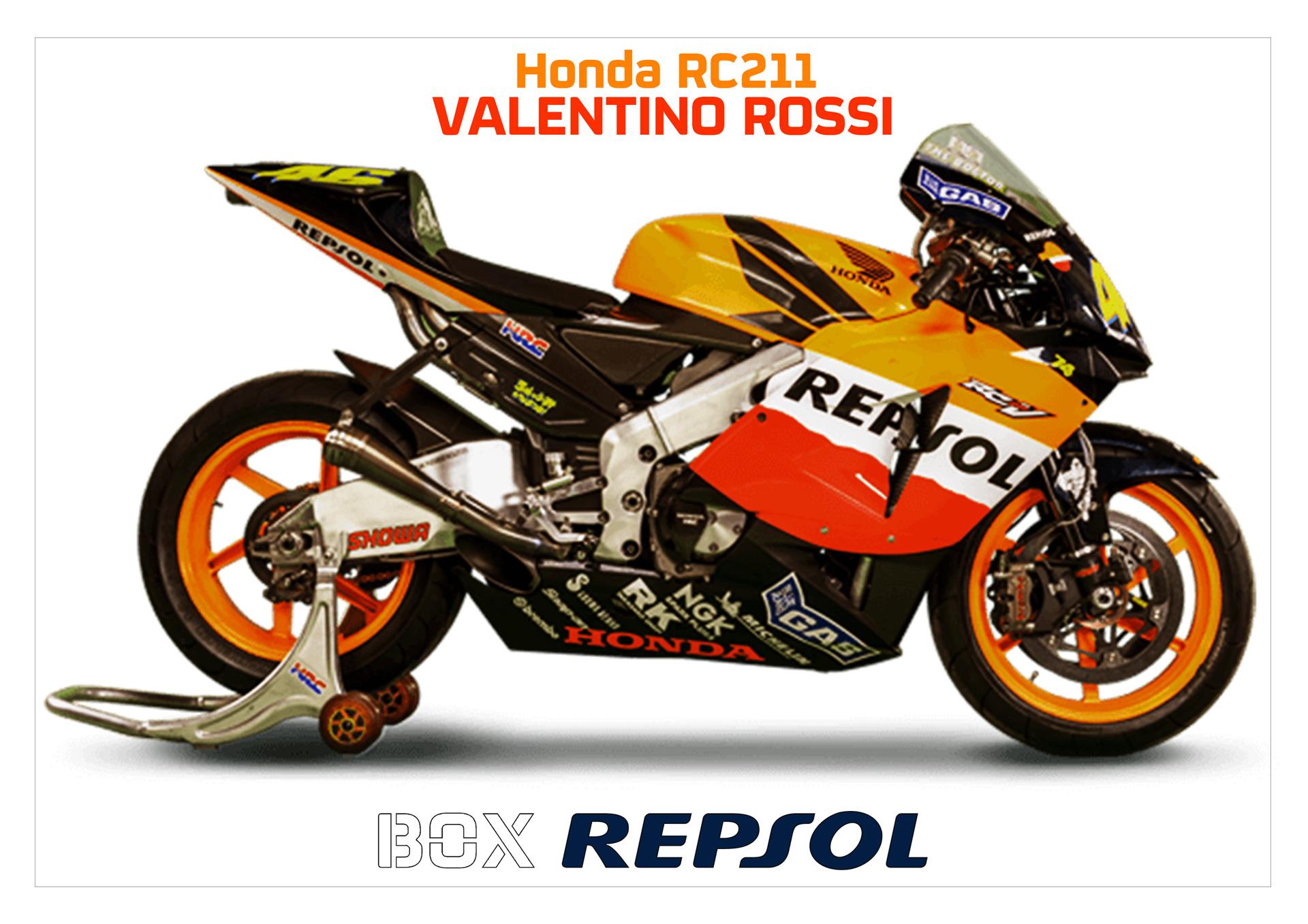 Honda RC211V. Valentino Rossi