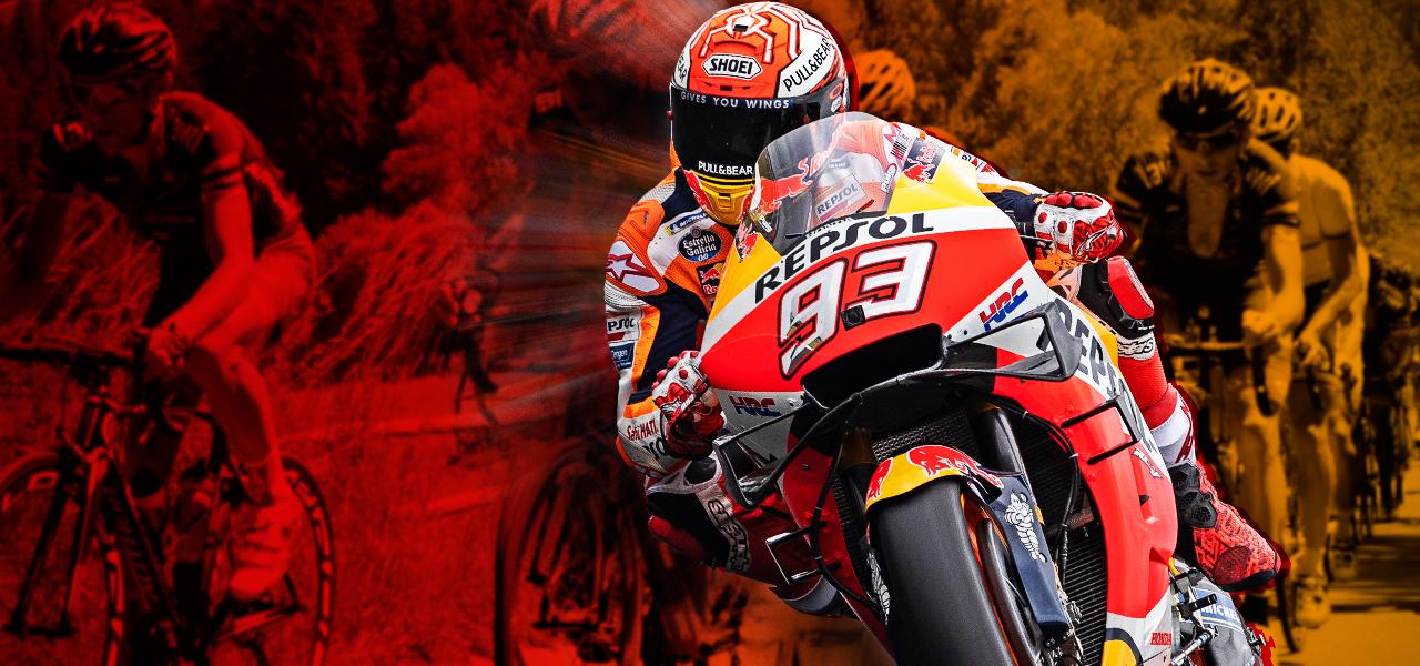 Vuelta ciclista a España… ¿en la Honda de Marc Márquez?