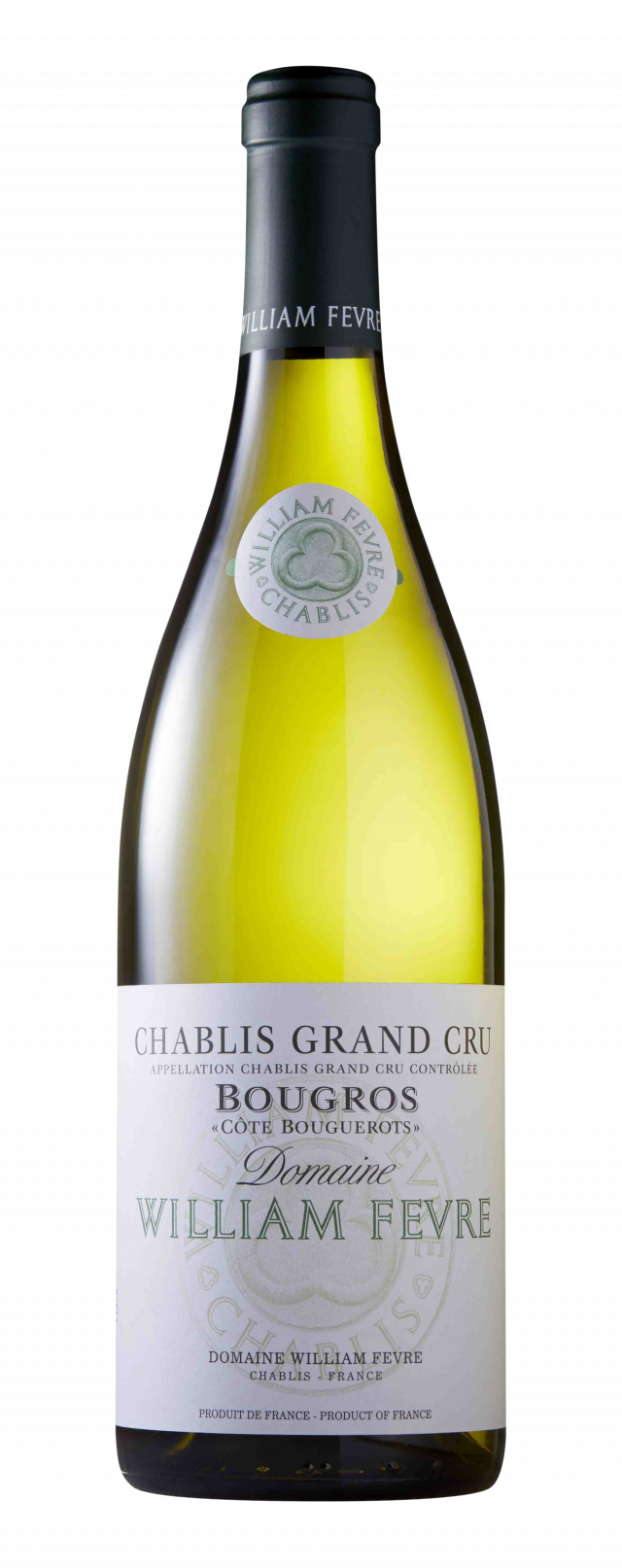 """Chablis Grand Cru Bougros """"Côte Bouguerots"""" Domaine"""