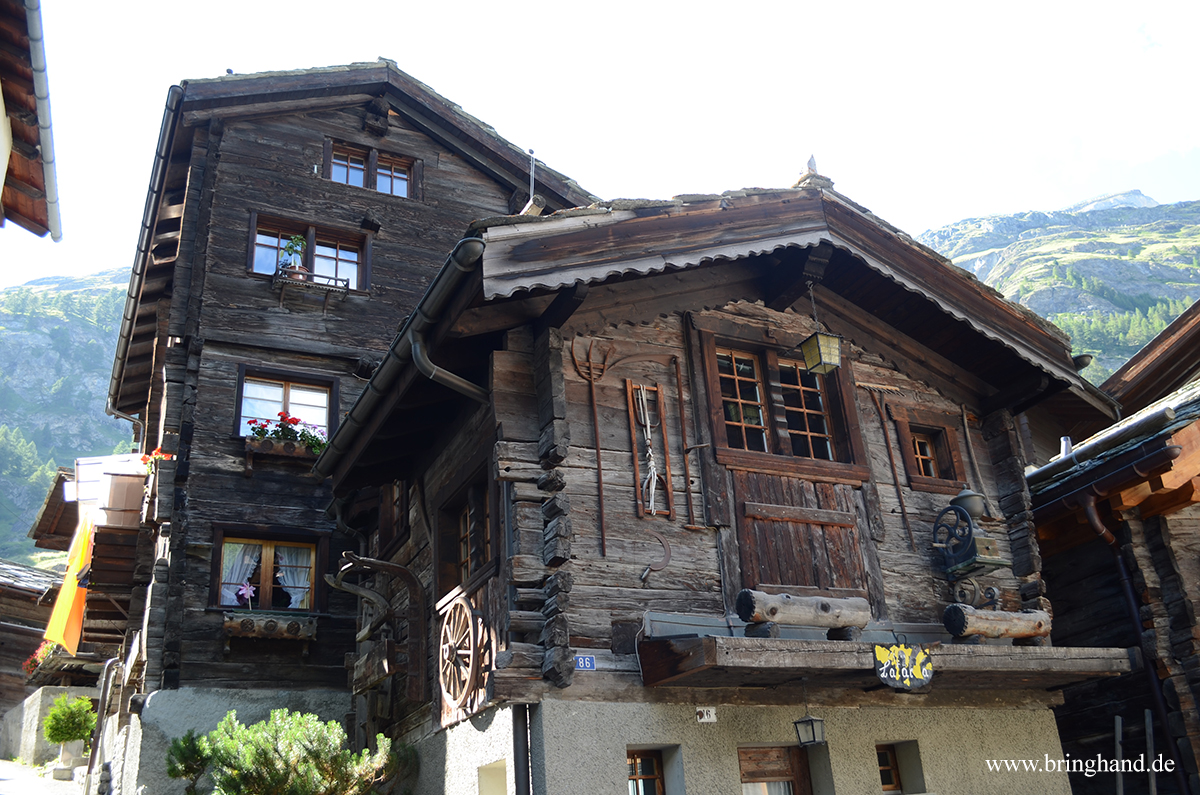 Walliserhaus in Zermatt