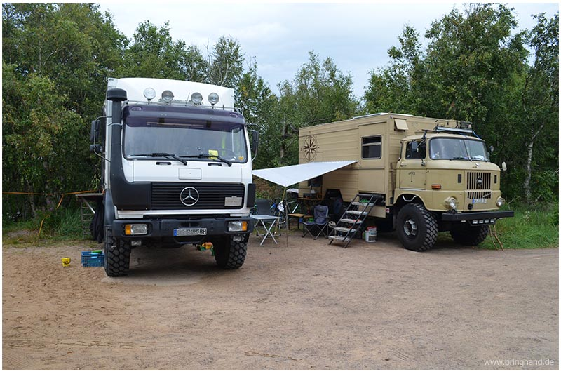 Expeditionmobils in Schweden