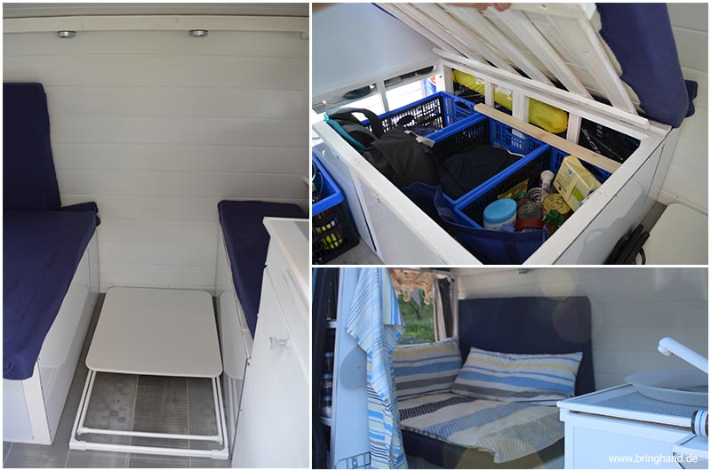 ein vw t5 kastenwagen wird zum campingmobil umgebaut bringhand blogbringhand blog. Black Bedroom Furniture Sets. Home Design Ideas
