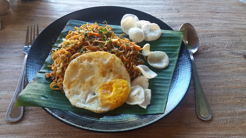 Leckeres Mie Goreng in Ubud