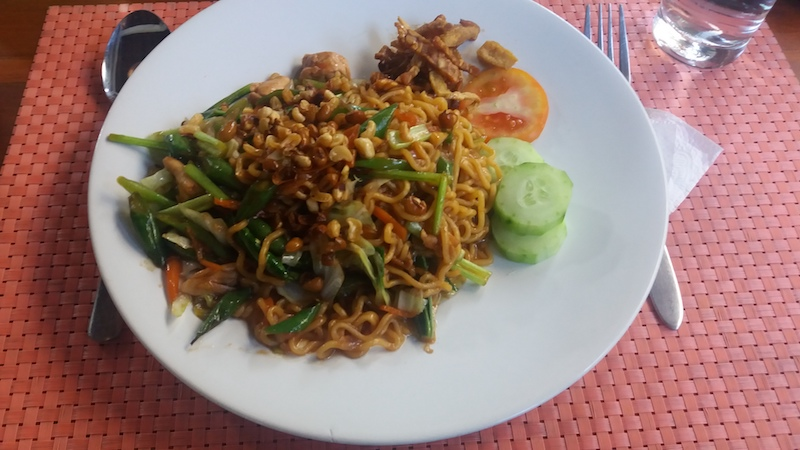 Mie Goreng auf Bali in Amed