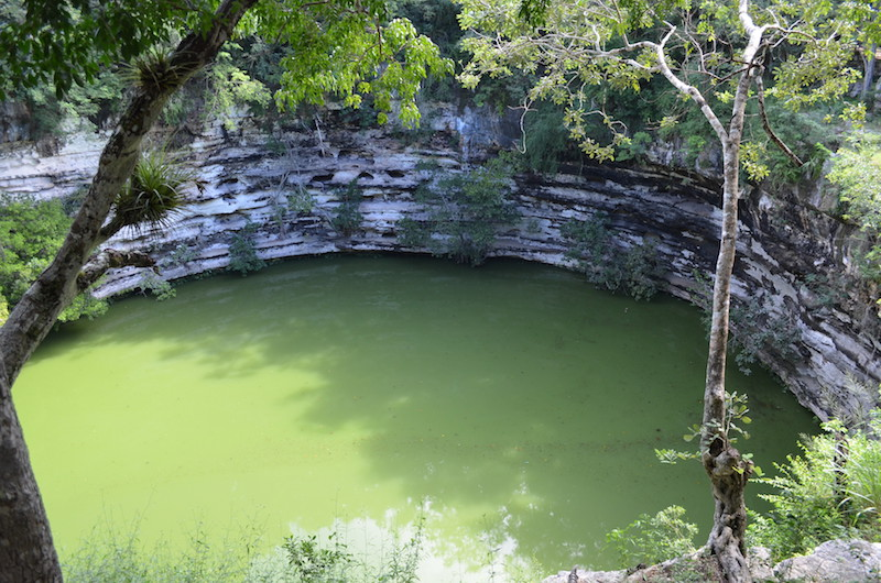 Cenote in Chichen Itza