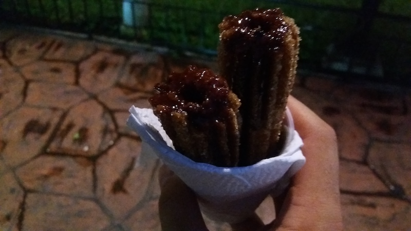 Churros Gebäck in Valladolid Mexiko