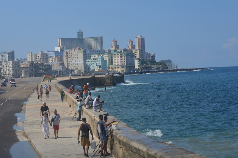 Malecon in Havanna auf Kuba