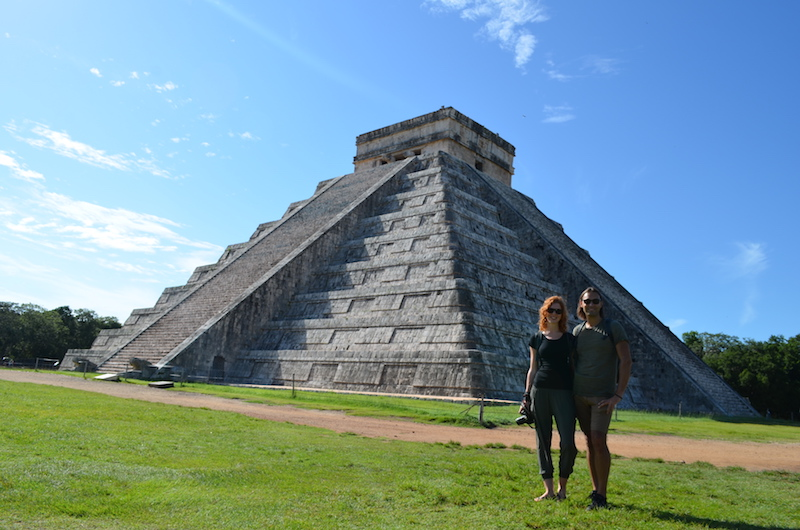 Chichen Itza in Mexiko bei den Mayas